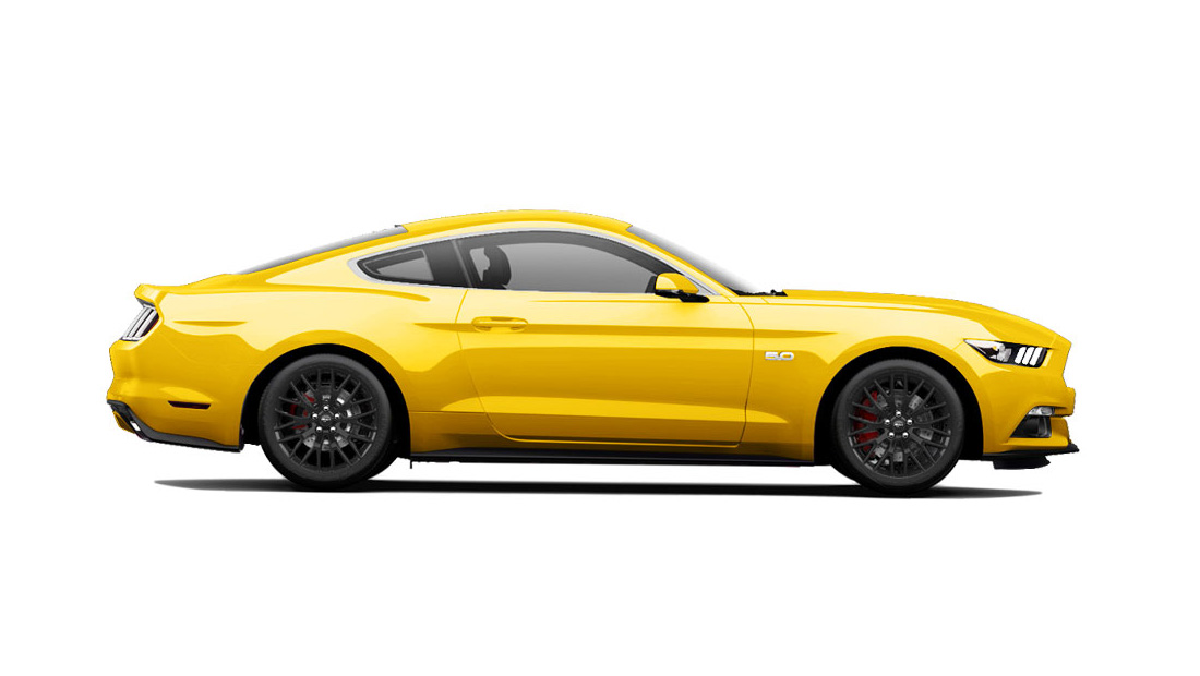 ford-mustang-yellow