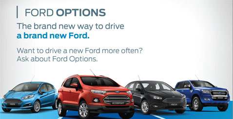 Ford Options November Promotions